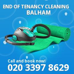 Balham end of tenancy cleaning SW17