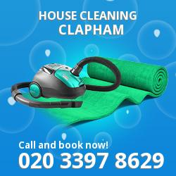 Clapham house cleaning SW4