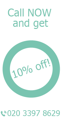 Call Now and Get 10% Off for Cleaning in Clapham