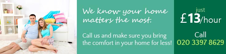 Low Rates for Full Home Cleaning in Ponders End
