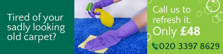 Brook Green Special Discounts on Rugs and Carpet Cleaning W14