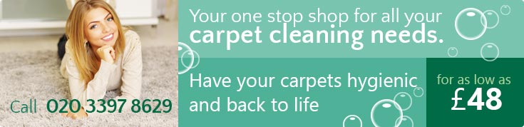E2 Steam and Carpet Cleaners Rental Prices Bethnal Green