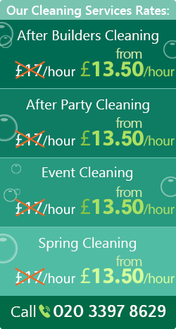 Homerton cleaning services E9