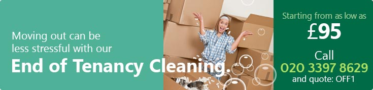 Low Cost End of Lease Cleaning Companies W1